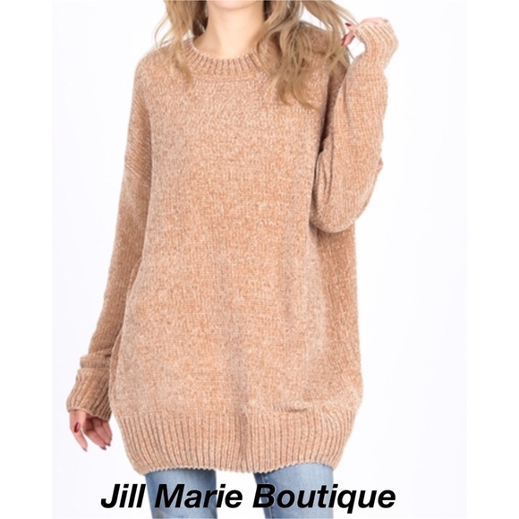 Jill Marie Boutique Sweaters - Oversized chenille sweater S, M, L, XL NWT